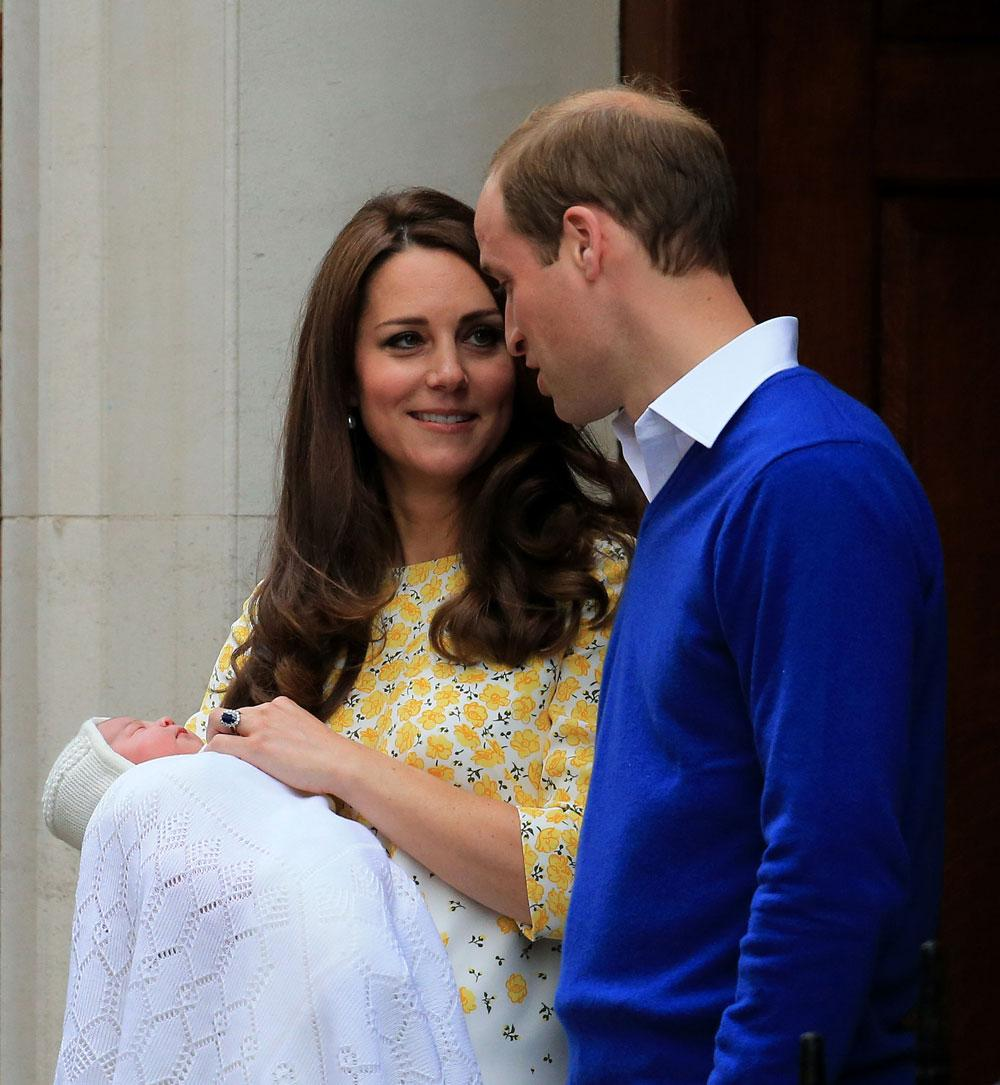 The Duke And Dutchess Of Cambridge Name Their Baby