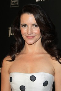 Kristin Davis is a polka dot princess at the Costume Designers Guild Awards Gala in LA